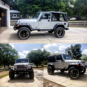 4in Jeep zone offroad - Lift Kit