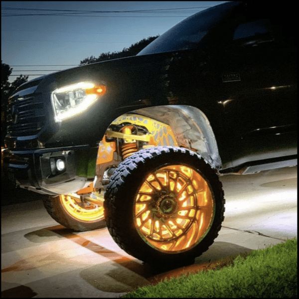 infinite offroad wheel lights